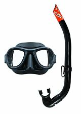 Tusa Spearfishing Freediving Ultra Low Volume Mask and Snorkel Set Combo