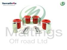 Range Rover Sport front upper suspension arm bushes wishbone arm bushes x4 poly