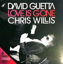 David Guetta & Chris Willis Maxi CD Love Is Gone - France (VG+/VG)