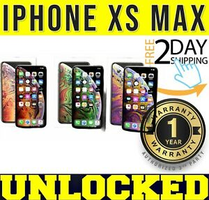 iPhone XS MAX 64GB┇256GB (FACTORY UNLOCKED) SPACE GRAY┇SILVER┇GOLD ❖SEALED❖(w)
