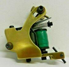 unknown handmade brass tattoo machine powerful shader NOT CAIN KRAK SHARPZ SOBA