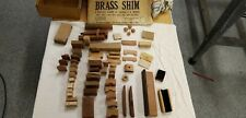 Job Lot Vintage Violin makers Parts & Accessories brass shim wood blocks