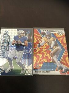 Panini Prizm Mosaic Mathew Stafford And Kenny Golladay Reactive And Silver