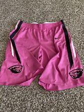 2018 TEAM ISSUED Nike Oregon State Beavers Game Basketball Pink Shorts Sz.42+2