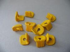 Lego 10 gilets de sauvetages set 6679 7726 30015 / 10 yellow life jacket