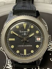 Lucerne Vintage Divers Watch. Rare Ghost Bezel. Titus Calypsomatic Submariner