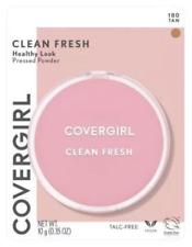 2 Pack Covergirl Clean Fresh Healthy Look Pressed Powder, 180 Tan