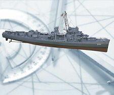 Model Boat Plans Scale DESTROYER ESCORT Rario Control Full Size Printed Plans