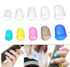 Silicone String Finger Protector Fingertip Cover Guitar Accessories Kit 25pcs