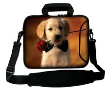 """LUXBURG 14"""" Inches Design Laptop Sleeve With Shoulder Strap & handle #FA"""