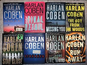 Lot Of 8 Harlan Coben Hardcover Books