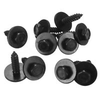 10Pcs 4.8 x 19mm Alloy 8mm Hex Head Self Tapping Tapper Screw & Washer For .+