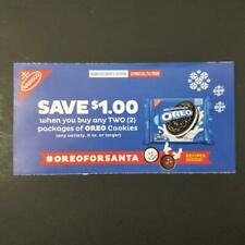 10 OREO COOKIES Coupons Save $1.00/2 Exp 01/31/2020