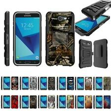 For Samsung Galaxy J7 (2017) / J7V / J7 Sky Pro / J7 Perx Holster Belt Clip Case