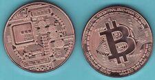 2021  BIT COIN   1 oz. Copper Round