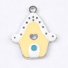 10pcs enamel cartoon room charms/pendants w1051