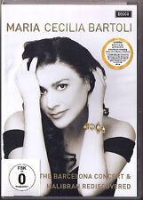 2.DVD Cecilia BARTOLI MARIA MALIBRAN Barcelona Concert & Documentary Casares NEU