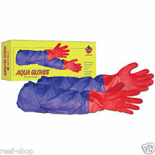 Coralife Aqua Gloves 28 inch Long Durable Rubber Work Gloves FREE USA SHIPPING