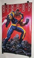 1994 Original Uncanny X-Men Bishop 34 x 22 Marvel Comics Press poster 175:1990's