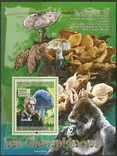 GUINEA SG2008 MUSHROOMS/ SCHEITZER SHEETLET NO1 MNH