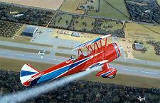 """Airshow"" Sam Lyons Super Stearman Print"