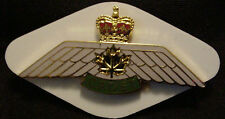 CANADA Canadian Air Cadets Cadet Pilot metal enameled wings badge perfect cond