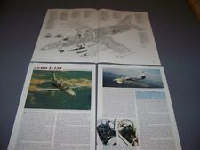 VINTAGE..AERO L-139..SPECS/CUTAWAY/3-VIEWS.. (234C)