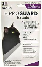 LM Sentry FiproGuard for Cats 3 Doses