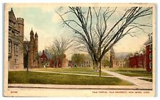 1932 Yale University Campus, New Haven, CT Postcard