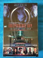 Independence Day Movie Trading Cards Box - Factory sealed - Topps