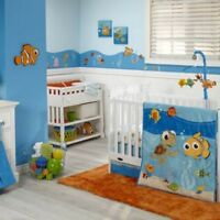 New Disney Baby Finding Nemo 4 Piece Crib Set Baby Infant Nursery Unisex