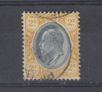 Transvaal KEVII 1902 5/- Orange SG257 Fine Used J9468