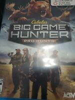 Cabela's Big Game Hunter: Pro Hunts (Nintendo Wii U, 2014) Complete