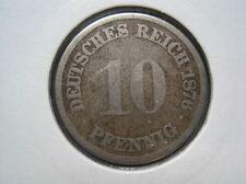 German Empire 10 Pfennig 1876 a (043)