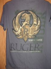 RUGER Rugged Reliable Firearms graphic M t shirt