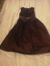 Party Dress Girls Aged 6 To 8 with bow