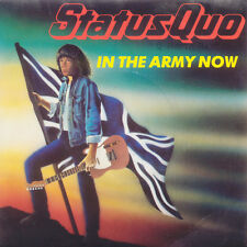 STATUS QUO In The Army Now / Heatburn FR Press Vertigo 888 056-7 1986 SP
