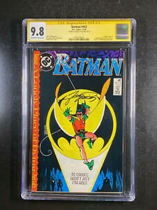 Batman 442 CGC 9.8 signed by George Perez 1st app Timothy Drake Robin Nightwing
