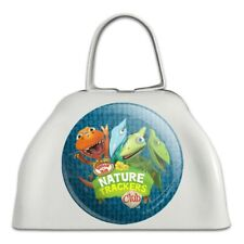 Nature Trackers Club Dinosaur Train White Metal Cowbell Cow Bell Instrument