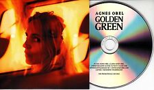 AGNES OBEL Golden Green 2016 UK 1-track promo CD