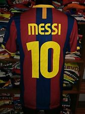 #10 MESSI FC BARCELONA 2010/2011 HOME SHIRT SIZE S JERSEY CAMISETA (g284)