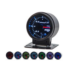 "52mm 2"" Turbo Boost Gauge Bar Digital Sensor /Analogue Display Skyline 200sx"