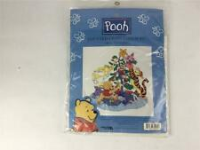 """Disney Pooh Tree Trimming Counted Cross Stitch Kit Size 12 3/4"""" X 12 3/4"""" New"""