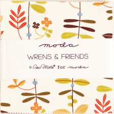 """MODA """"WRENS & FRIENDS"""" 5 INCHES CHARM PACK 42 SQUARES BUNDLE"""