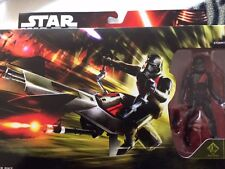 Star wars the force awakens  elite speeder bike and stormtrooper 3.75 figure set