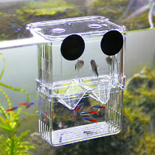 Acrylic Fish Breeding Net Boxes Isolation Aquarium Incubator Box Tank