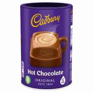 3x Cadbury Hot Chocolate Cocoa Powder 500G