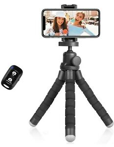 Flexible Smartphone Tripod Bluetooth with Remote for Phones & Mount for A GoPro