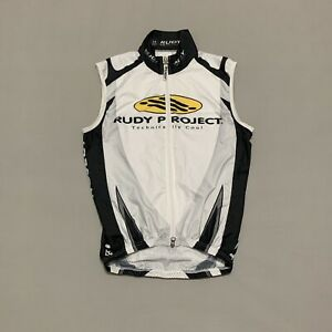 Rudy Project Cycling White Vest Size XS