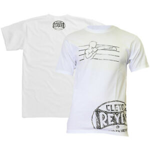Cleto Reyes Printed Fighter Logo T-Shirt - White